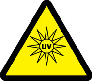 Uv Hazard - Plastic - 6''