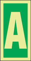 Letter A IMO Sign