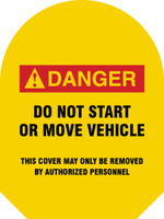 M.A.G.s Mirror Awareness Guards- Danger Do Not Start or Move Vehicle