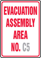 Evacuation Assembly Area No. ___
