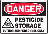 Danger - Pesticide Storage Authorized Personnel Only