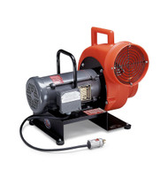 Explosion Proof Blower Electric 3/4 HP Motor Single Phase (includes Plug, 220V/50Hz)
