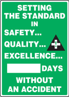 Write A Day Safety Scoreboard  - Setting the Standard