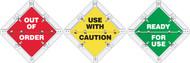 PSF301 Status Alert Flip Plac Sign