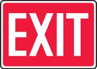 Exit - Dura-Fiberglass - 10'' X 14''