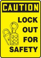 Caution - Lock Out For Safety 1