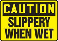 Caution - Slippery When Wet