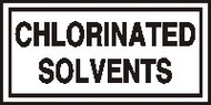 Chlorinated Solvents Label