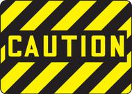 Caution - Plastic - 10'' X 14''