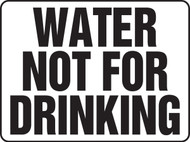 Water Not For Drinking