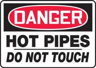 Danger - Hot Pipes Do Not Touch