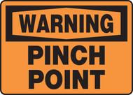 Warning - Pinch Point