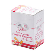 finger tip bandages are made of heavy weight fabric that will hold up to your work day.