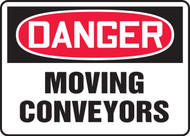 Danger - Moving Conveyors