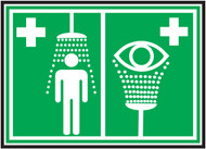 Emergency Shower-Eyewash ISO