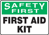 Safety First - First Aid Kit