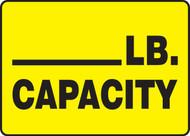 ____ LB. Capacity