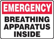 Breathing Apparatus Inside - Adhesive Dura-Vinyl - 7'' X 10''