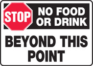 Stop No Food Or Drink Beyond This Point