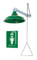 Haws 8122 Horizontal or Vertical Emergency Drench Shower