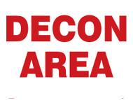 MCHL528 Decon area sign