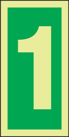 Number 1 IMO Sign