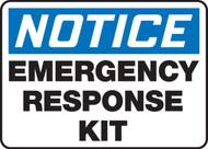 Notice - Emergency Response Kit