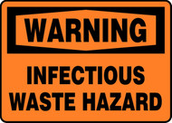 Warning - Infectious Waste Hazard