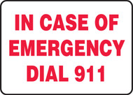In Case Of Emergency Dial 911 1