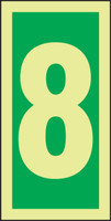 Number 8 IMO Sign