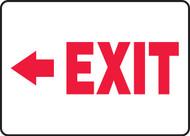 Arrow Left Exit - Lumi-Glow Flex - 7'' X 10''