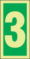 Number 3 IMO Sign