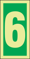 Number 6 IMO Sign