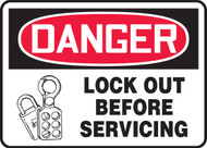 Danger - Lock Out Before Servicing 1