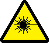 MISO364VA ISO warning safety sign- Laser beam sign