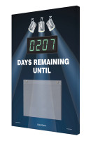 Countdown Digi-Day® Electronic Scoreboard - Spotlight