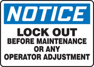 Lock Out Before Maintenance Or Any Operator Adjustment 1