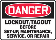 Lockout-Tagout Before Set-Up, Maintenance, Service Or Repair