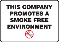 This Company Promotes A Smoke Free Environment