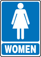 MRST523VP Womens Restroom Sign