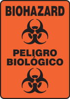 SBMBHZ530 Biohazard spanish safety sign