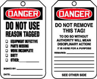 Do Not Use - Reason Tagged - 25/PK