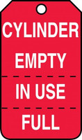 Cylinder Status - Safety Tag - 25/PK
