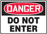 OSHA Danger Safety Sign: Do Not Enter