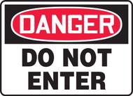 OSHA Danger Safety Sign: Do Not Enter