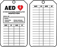 Mini Tags: AED Inspection