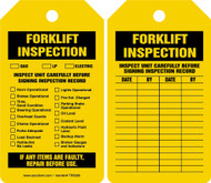Equipment Status Safety Tag: Forklift Inspection