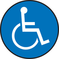 Slip-Gard™ Floor Sign: Handicap