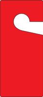 Door Knob Safety Tag: Blank