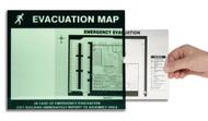 Emergency Evacuation Signs Map Holders: In Case Of Emergency